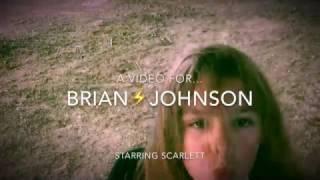 AC/DC - Rock The Blues Away - fan tribute for BRIAN JOHNSON