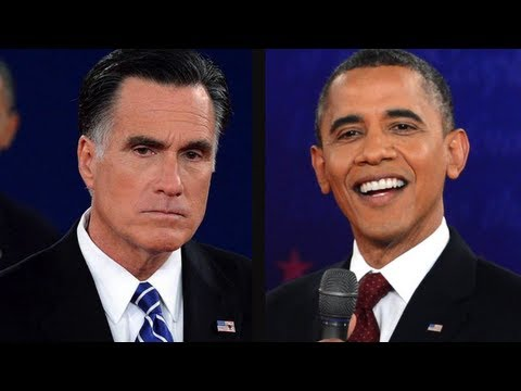 Obama Vs. Romney: Second Presidential Debate video