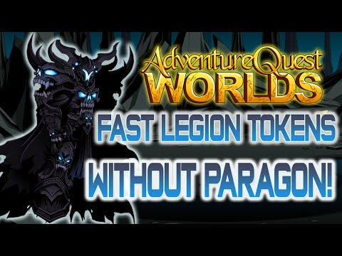 AQWorlds Fastest Way to Get Legion Tokens!
