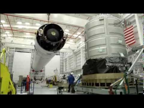 Timelapse Video Captures Orbital's Antares And Cygnus Orb-1 Mating And Launch Preparations