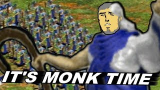 Breaking Age Of Empires 2 With An Army of Monks