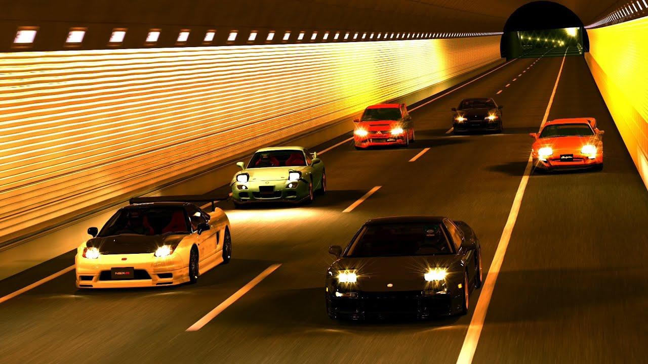 Wangan Racing Cars