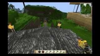 minha pasta .minecraft com mods(buildcraft)(industrial2)(redpower)(plane)(gun)(minimap)