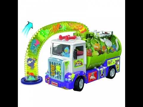 The Trash Pack Surprise !! Trashies Garbage Truck Junk Slime Ooze Unboxing Review Playset