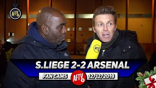 Standard Liege 2-2 Arsenal | Us Fans Need To Unite & Support The Club!