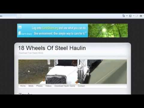 Download Free 18 wheels of steel haulin game mods(updated)