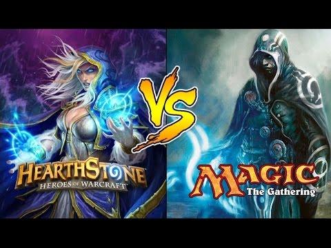 Magic: the Gathering vs. Hearthstone