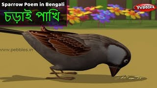 Baby and Sparrow Song in Bengali | Bengali Rhymes For Children | Baby Rhymes | Bengali Kids Songs