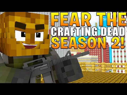 WE CAN'T TRUST ANYONE - MINECRAFT FEAR THE CRAFTING DEAD S.2 E.1