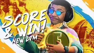 *NEW LTM* SCORE ROYALE! WINNING MY FIRST GAME (Fortnite BR Full Match)