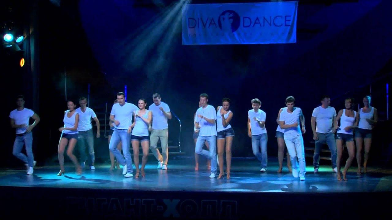 Летний отчетный концерт танцевальной школы DIVA в Гигант-холле 08.06.2014. Бачата.