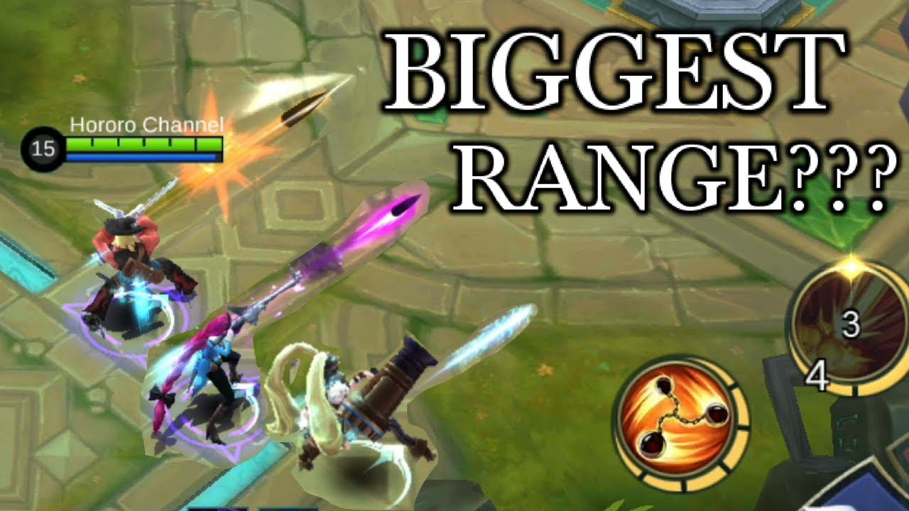 THE BIGGEST RANGE? LESLEY LAYLA AND CLINT
