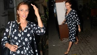 Salman Khan's Girlfriend Iulia Vantur At Bandra
