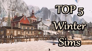 Second Life - TOP5 - Winter Sims
