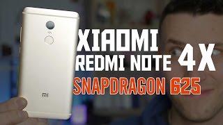 СТРАННЫЙ Xiaomi Redmi Note 4X на Snapdragon 625