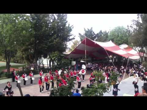 Banda juvenil de marcha - coacalco - 11 aniversario