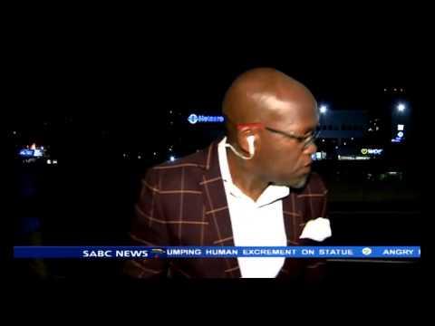 Vuyo Mvoko mugged in full view of SABC cameras