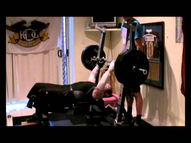 Dean Clifford 140kg record