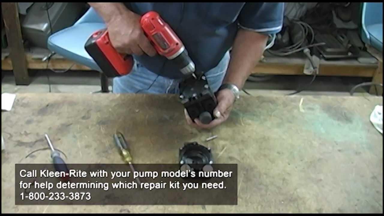 How To Rebuild A Flojet Pump