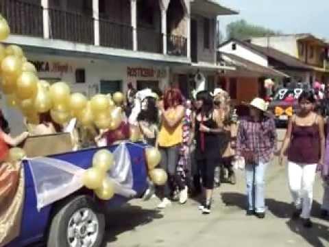 Desfile De Carnaval Tenango 2012