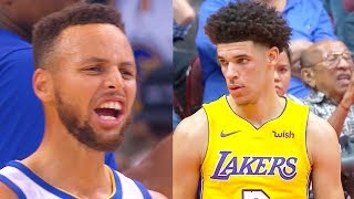 Stephen Curry Meets Lonzo Ball For The First Time (NBA Parody)