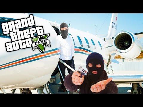 GTA 5 GERÇEK HAYAT !!! - Uçak Çalamamak ! #4
