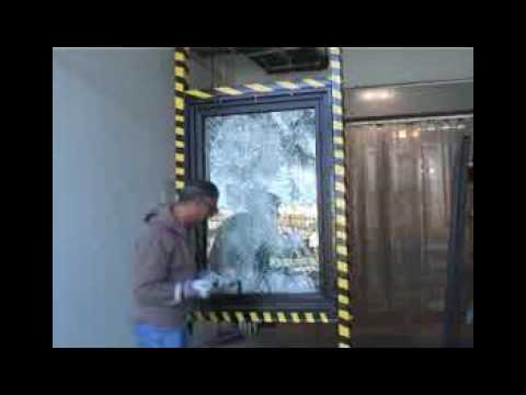 Bullet Proof Windows >> High Security Doors - Bullet Proof Window - YouTube