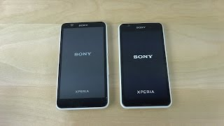 Sony Xperia E4 vs. Sony Xperia E4g - Which Is Faster? (4K)