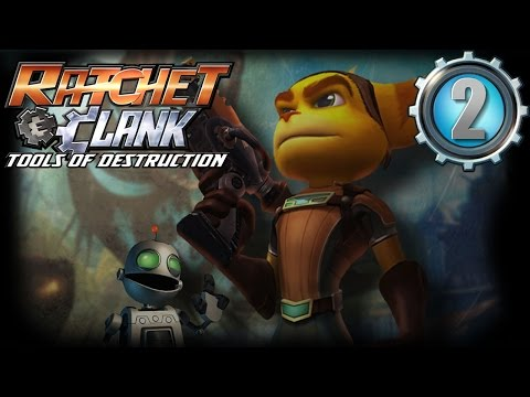 Ratchet & Clank Opération Destruction Let's Play - Ep 2 : Crash sur Cobalia