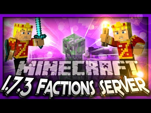 Minecraft 1.7.3 Factions PVP Server Top Servers Of The Week