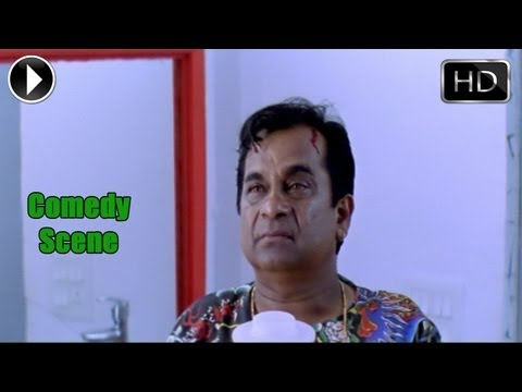 Khatarnak Movie | Raviteja Beating Brahmanandam Comedy Scene | Ravi Teja, Ileana video