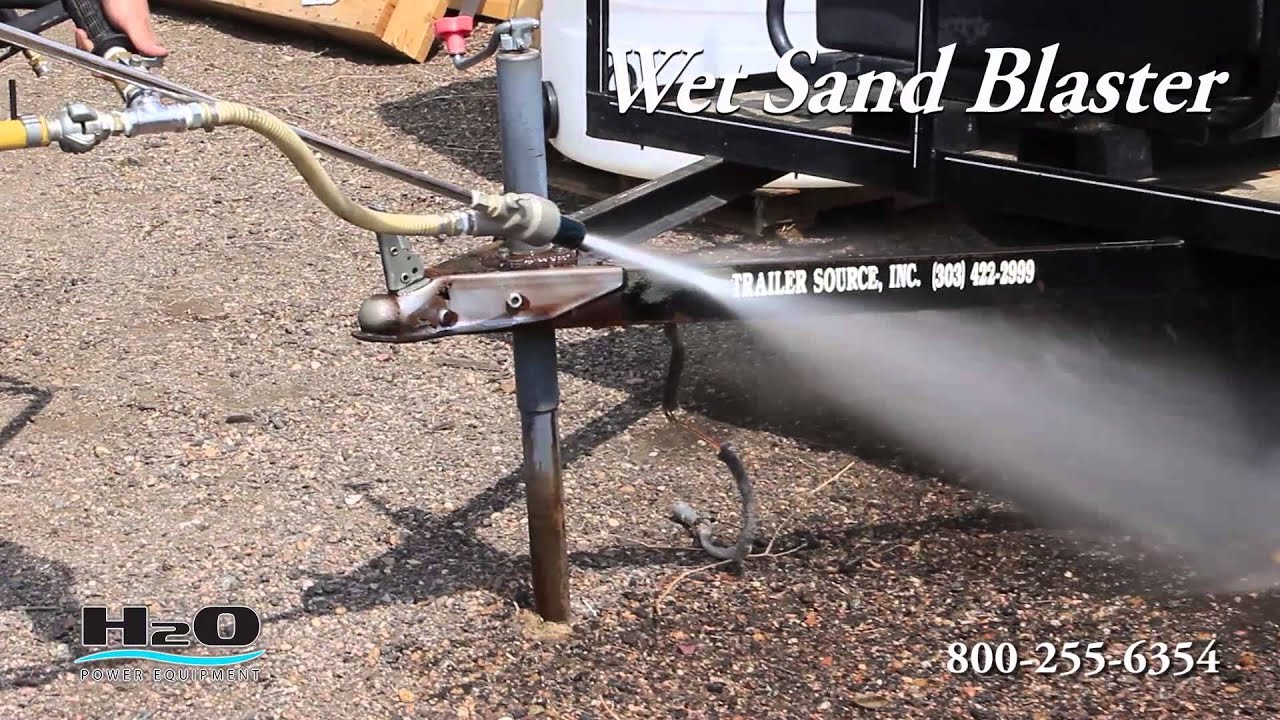 Wet Sand Blaster Pressure Washing Tools Power Washing