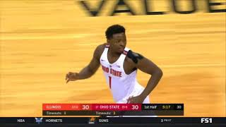 (NCAAM) Illinois Fighting Illini at Ohio State Buckeyes in 40 Minutes (2/4/18)