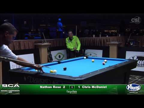 2015 Men's Advanced Singles: Nathan Rose vs Chris McDaniel (Final)