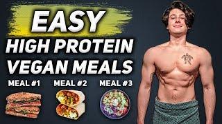 Easy High Protein Vegan Meal Prep | Delicious Vegan Bodybuilding Meals