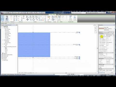 Revit Architecture 2012 - Tutorial 03