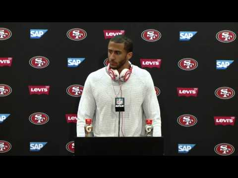 49ers Vs Bears Postgame Press Conference - Colin Kaepernick