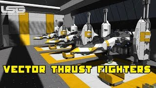 Space Engineers - Vector Thrust Fighters, Concept