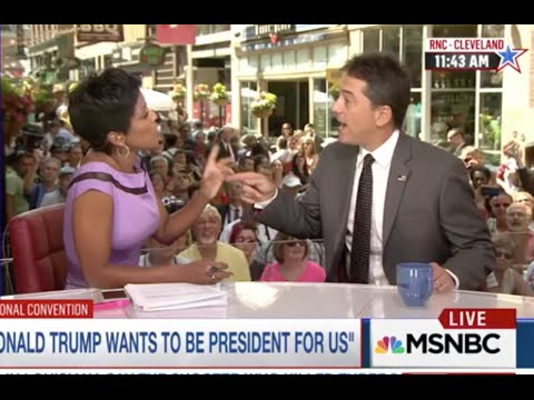 MSNBC's Tamron Hall CHECKS Scott Baio Over His Hillary Clinton & Michelle Obama Tweets *sips tea*