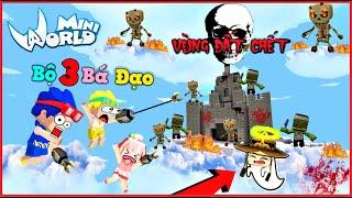 Mini World vùng đất chết: tập 20 Thử thách chiến đấu trên mây và hồi sinh kairon   Phong Cận Tv