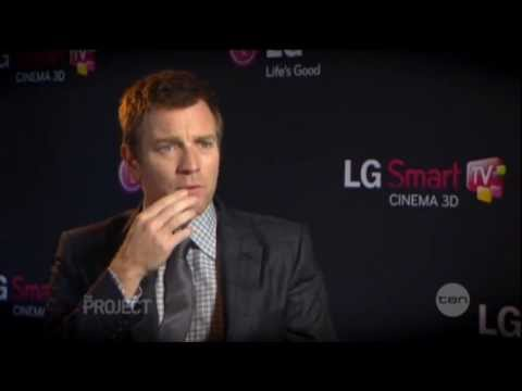 Ewan McGregor interview on The Project (2013)