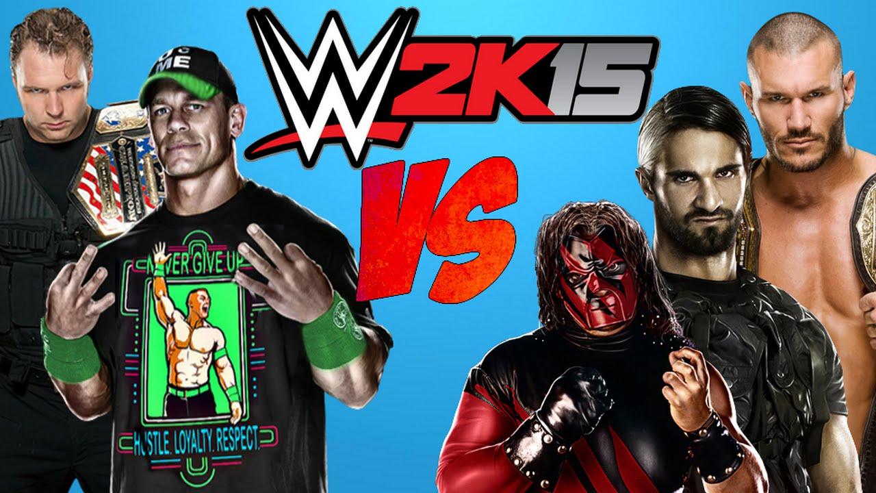 Wwe 2k15 Randy Orton vs Seth Rollins Randy Orton Seth Rollins