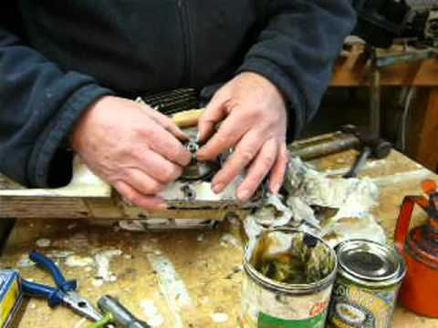 Part 6b. Stihl 026 / MS260 chainsaw clutch replacement