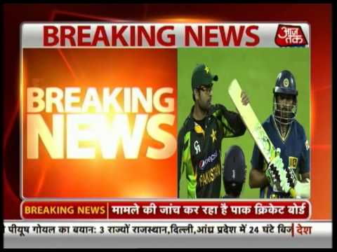 Pak cricketer Ahmed Shehzad induces Dilshan to convert
