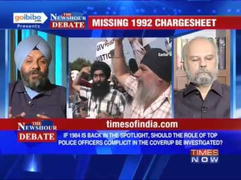 The Newshour Debate: Who is responsible for the 1984 Anti-Sikh Riots? (Part 1 of 2)