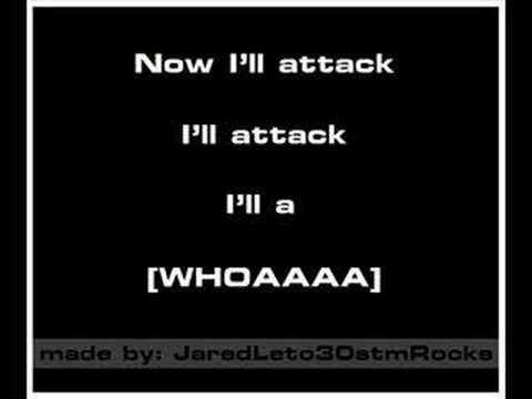30 Seconds To Mars - Attack [Karaoke/Instrumental]
