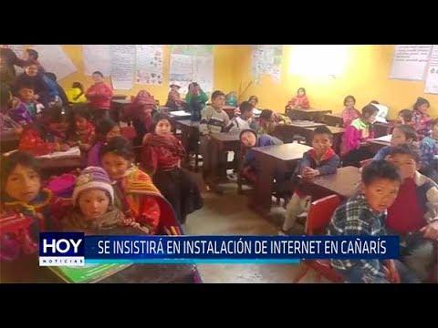 Chiclayo: Se insistirá en instalación de internet en Cañarís