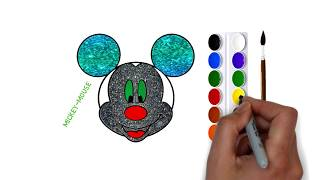 Learn To Draw and Color | Paint Classes For Kids | Art Less Drawing Tutorials