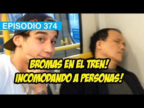 Incomodando a Personas en el Tren! #mox #whatdafaqshow