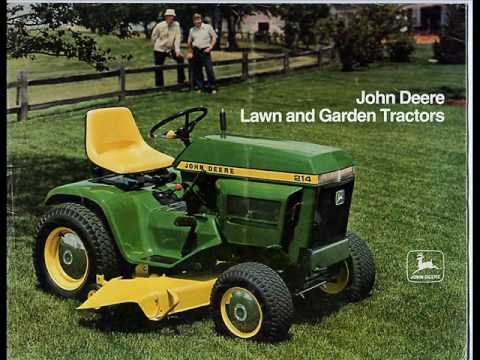John Deere Lawn Tractor Time Line How To Save Money And